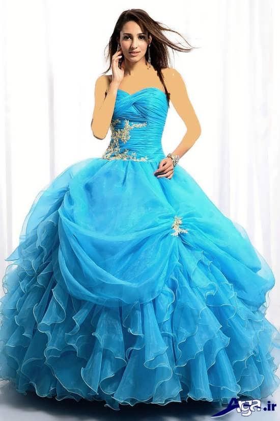 مدل لباس پرنسسی مخصوص جشن های حنابندان