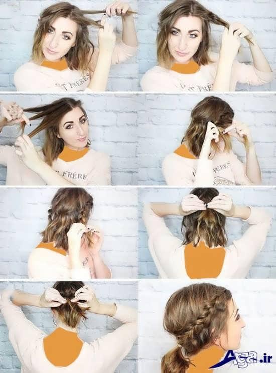انواع بافت مو در طرح های متنوع