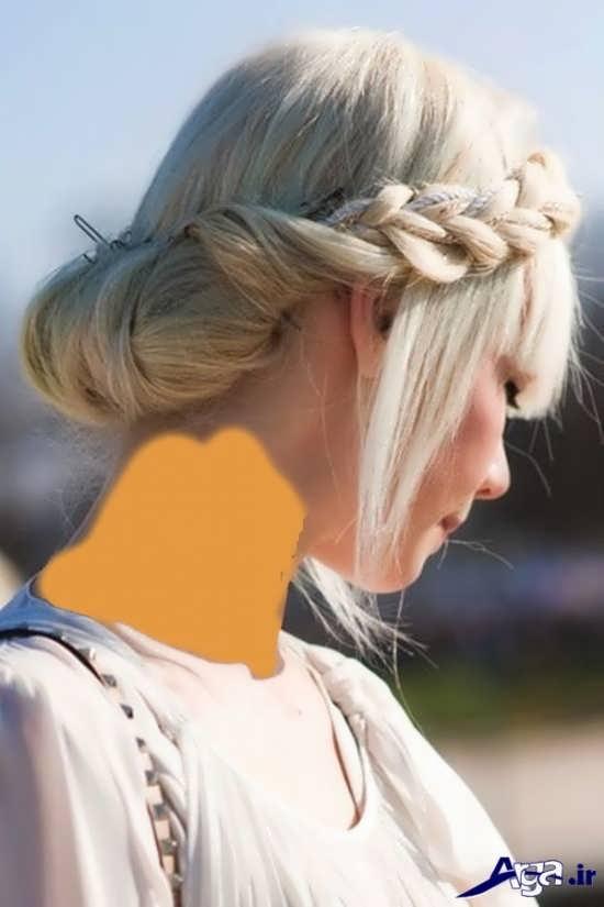 بافت موی جلوی سر