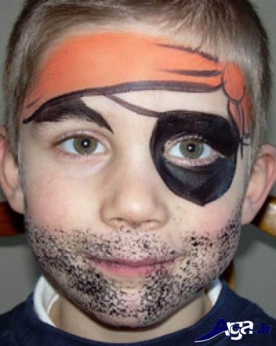 رنگ امیزی الاغ تصویر مدل های زیبا و خلاقانه نقاشی روی صورت کودکان