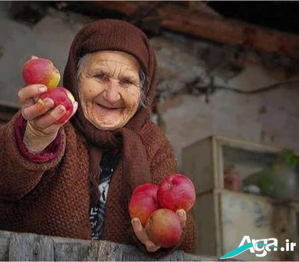 عکس مادر سالمند