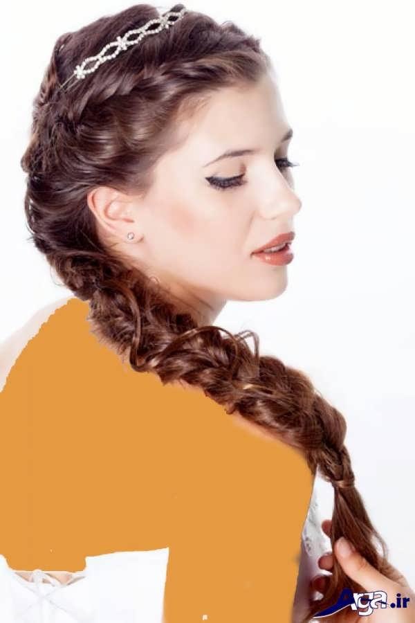 مدل بافت مو دخترانه زیبا و مدرن
