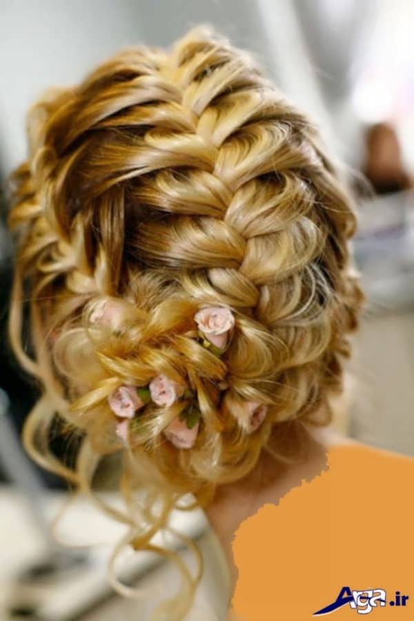 بافت مو در طرح های متنوع