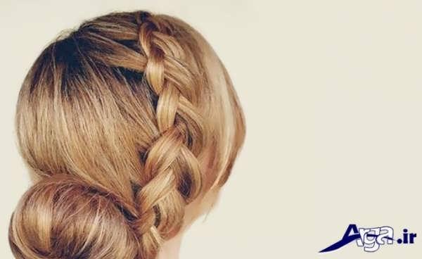 بافت مو دخترانه