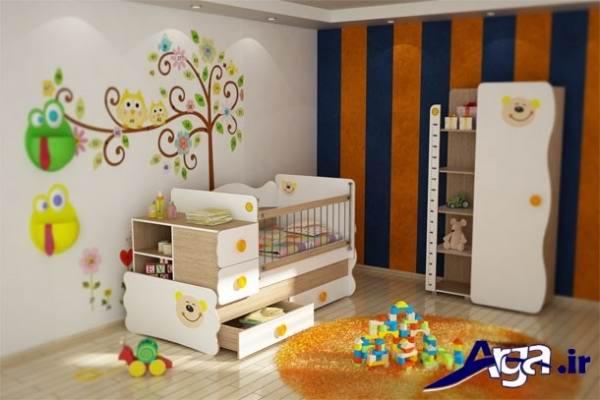جدیدترین سرویس خواب سفید برای نوزادان