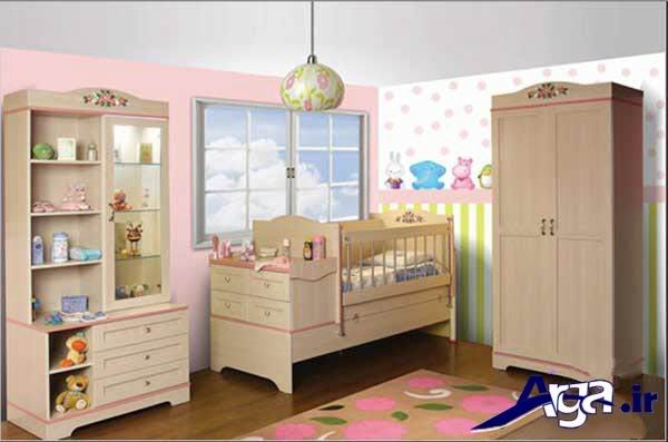 جدیدترین طراحی اتاق نوزاد پسر