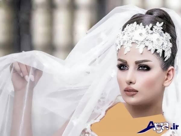 مدل های متنوع آرایش لایت عروس