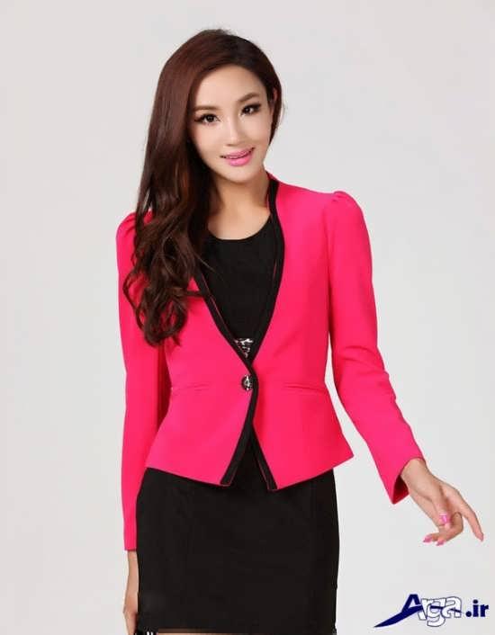 مدل کت تک دکمه زنانه