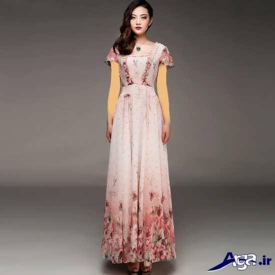 مدل لباس مجلسی کره ای با طرح زیبا