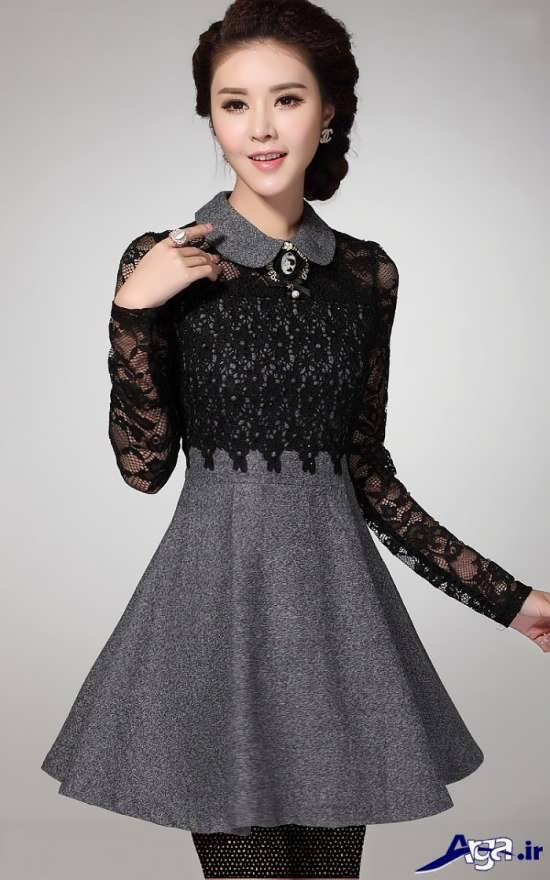 مدل لباس مجلسی کره ای دخترانه 2016