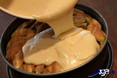 طرز تهیه کیک سیب خانگی