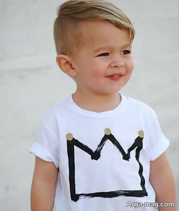 مدل موهای بچه گانه زیبا برای پسران