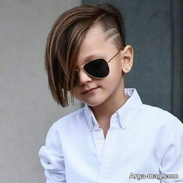 مدل مو جدید بچه گانه