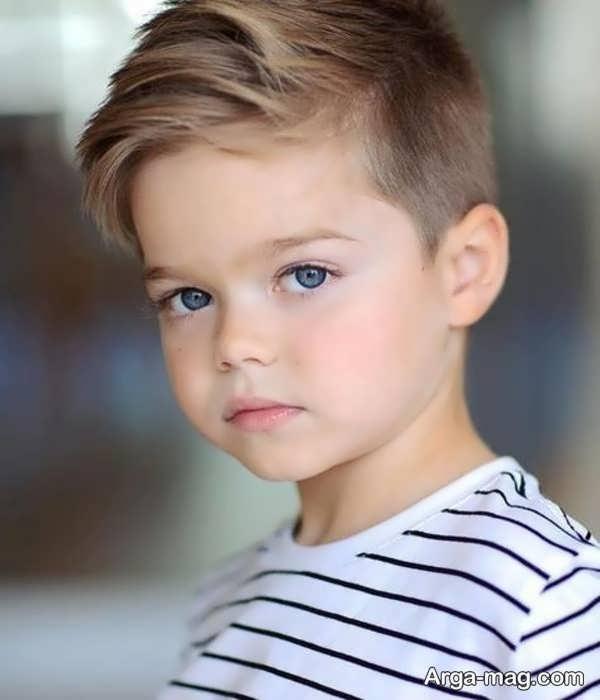 مدل موهای بچه گانه متفاوت برای پسران