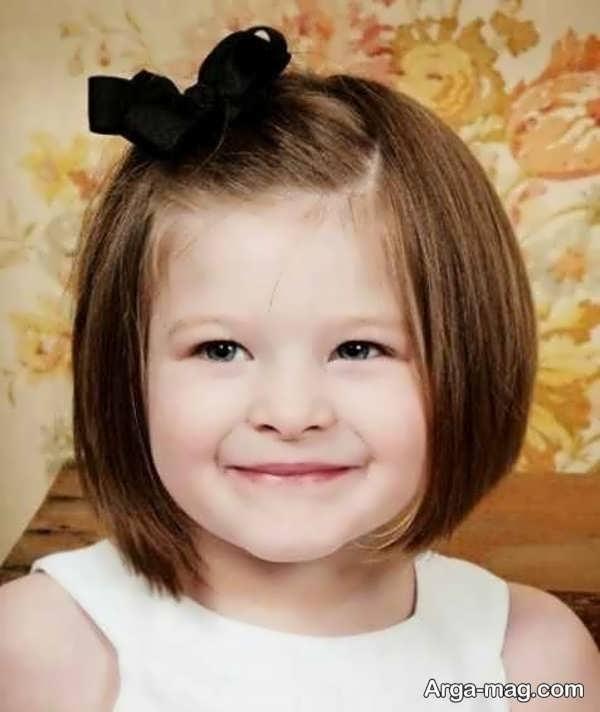مدل موهای بچه گانه جذاب برای دختران
