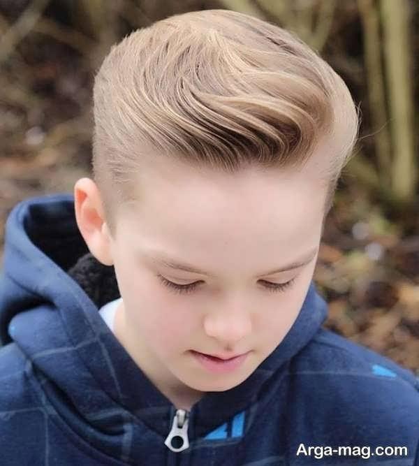 مدل موهای بچه گانه بی نظیر برای پسران