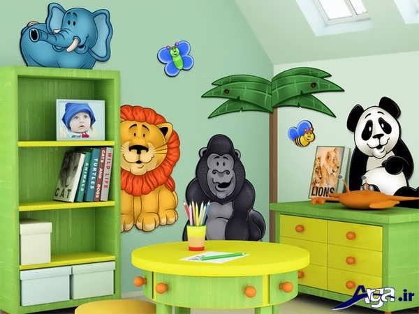 تزیین اتاق کودک جدید