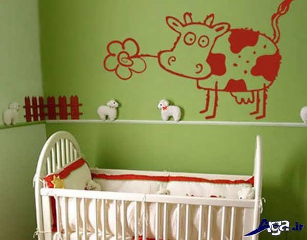 تزیین زیبای اتاق بچه ها