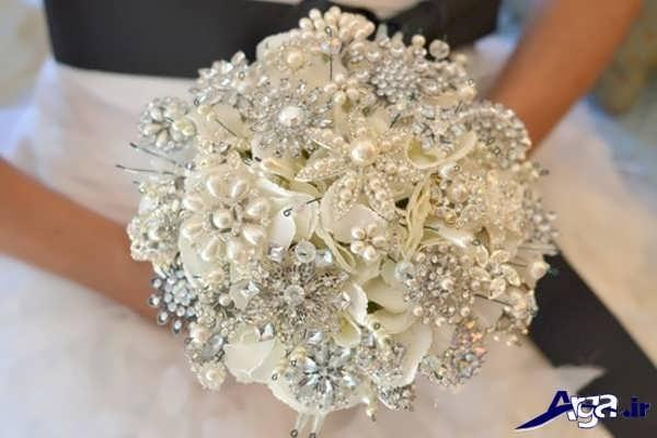 دسته گل عروس شیک