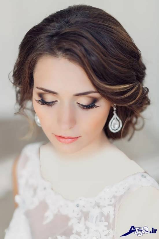 مدل آرایش و سایه 95 عروس