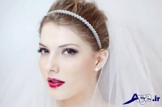 انواع مدل آرایش عروس شیک و جدید
