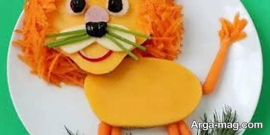 تزیینات هویج کودکانه