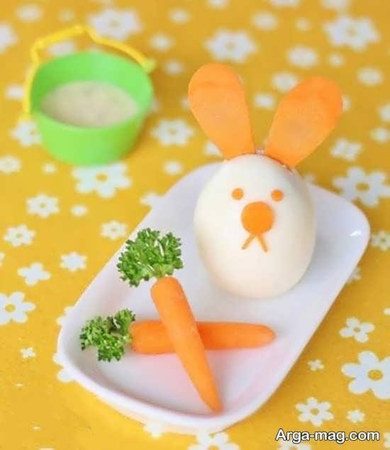 تزیینات هویج برای غذا