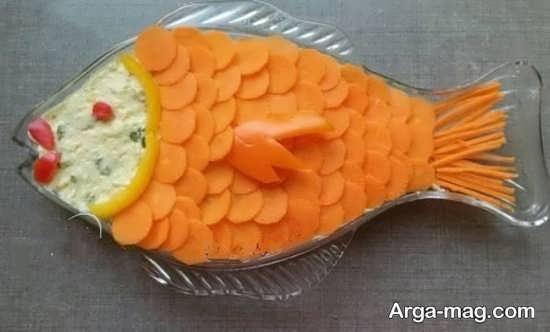 مدل تزیینات هویج