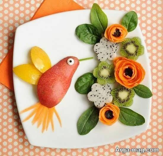 انواع تزیینات هویج با ایده جذاب