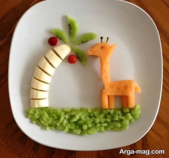 تزیینات میوه با هویج
