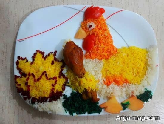 تزیین هویج برای کودکان