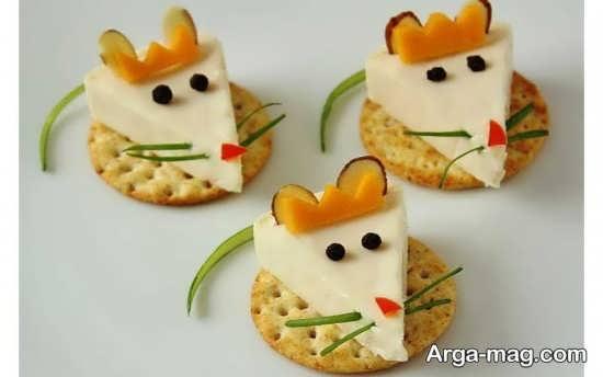 تزیینات صبحانه کودک با هویج