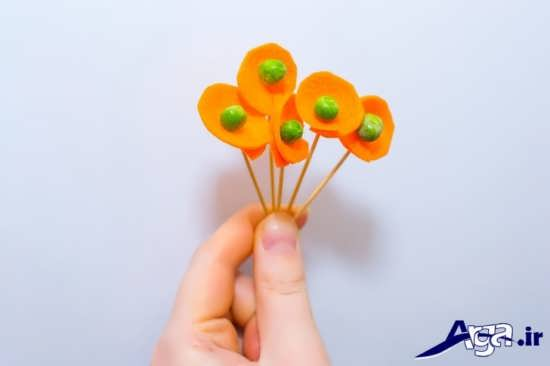 مدل های متنوع تزیین جالب هویج