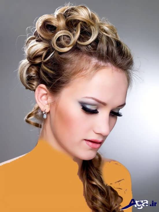 مدل آرایش موی زیبا و جذاب