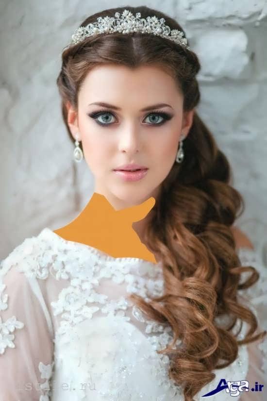 مدل های شینیون عروس