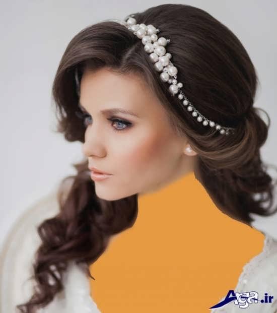 مدل های آرایش موی عروس همراه با متد های روز