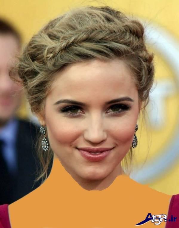 آرایش ساده موی دخترانه