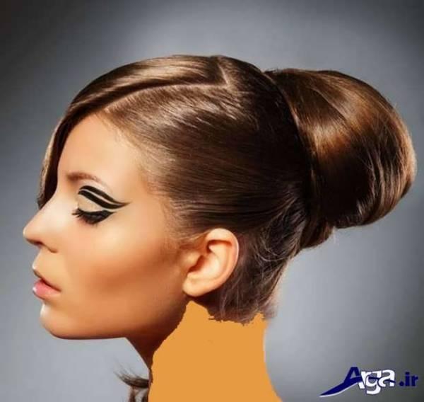 انواع مدل های متنوع شینیون موی دخترانه