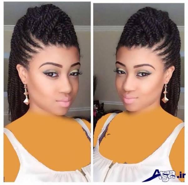 مدل بافت آفریقایی دخترانه