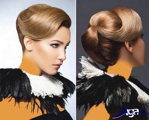 مدل آرایش مو و صورت دخترانه