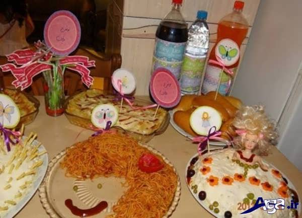 تزیین میز تولد کودکان