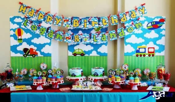 تزیینات اتاق تولد