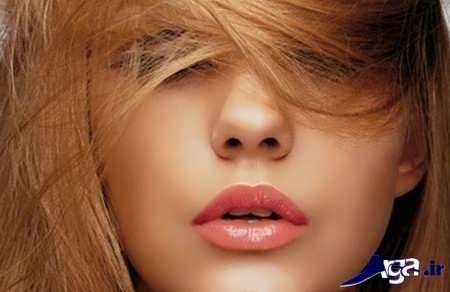 رنگ مو و رژ لب برای پوست گندمی