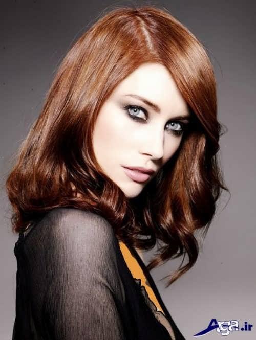 رنگ موی مسی زنانه