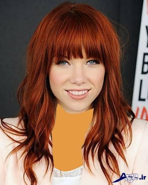 رنگ مو مسی شیک