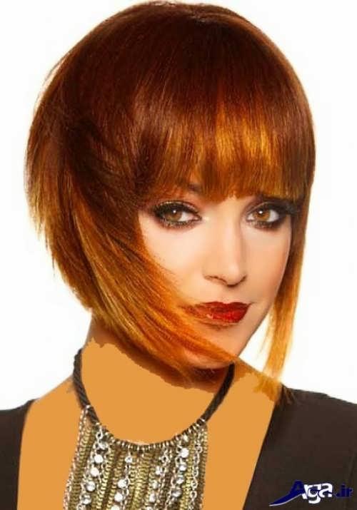 انواع مدل های متنوع رنگ موی مسی