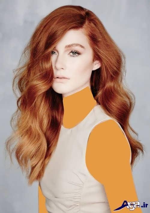 مدل های شیک و متنوع رنگ موی مسی