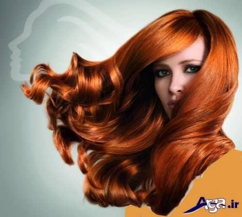 مدل های رنگ موی مسی