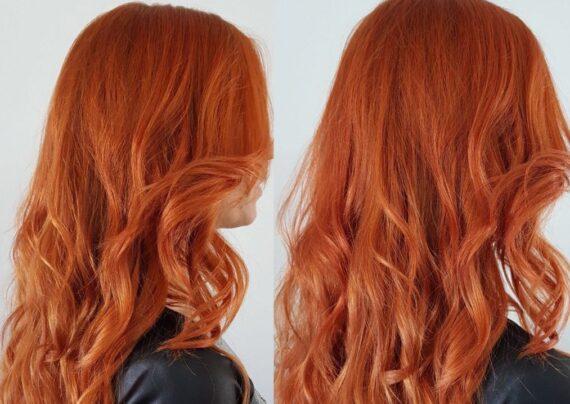 رنگ مو مسی گیاهی