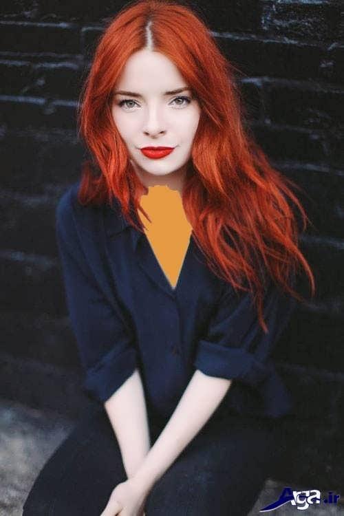 انواع مدل های رنگ موی مسی